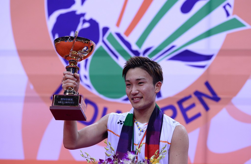 Kento Momota looks set to miss out on representing his country at the Olympics