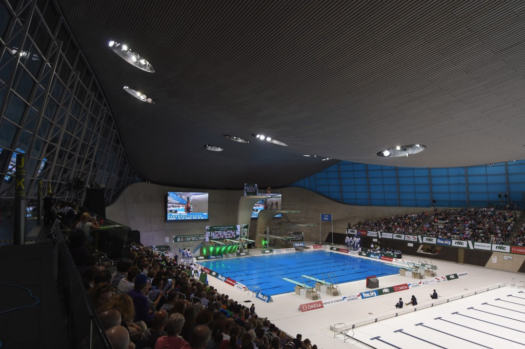The 2016 European Aquatics Championships is considered the biggest event to be held at the Aquatics Centre since London 2012