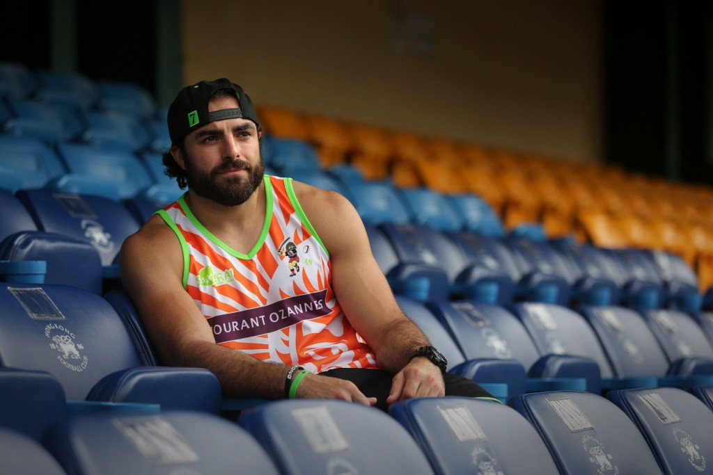 American football player Nate Ebner's chances of competing at the Rio 2016 Olympic Games have been given a boost ©Getty Images