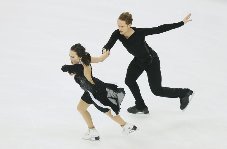 Madison Chock and Evan Bates won the silver medal at the ISU World Figure Championships