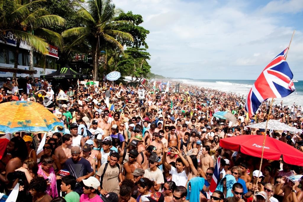 Costa Rica awarded 2016 World Surfing Games by ISA