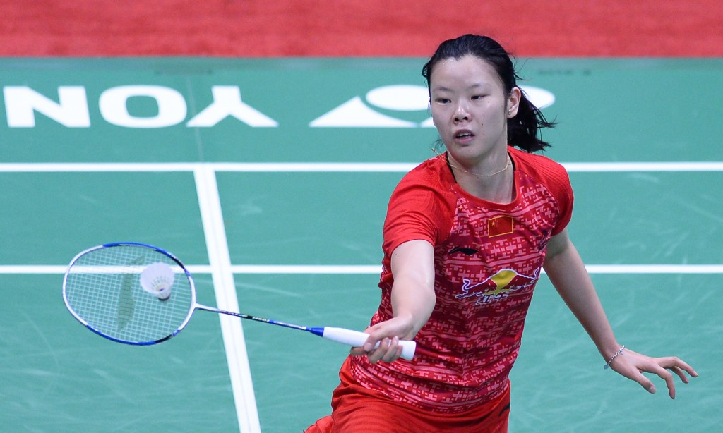 Reigning Olympic champion Li Xuerui of China crashed out of the Malaysia Open ©Getty Images