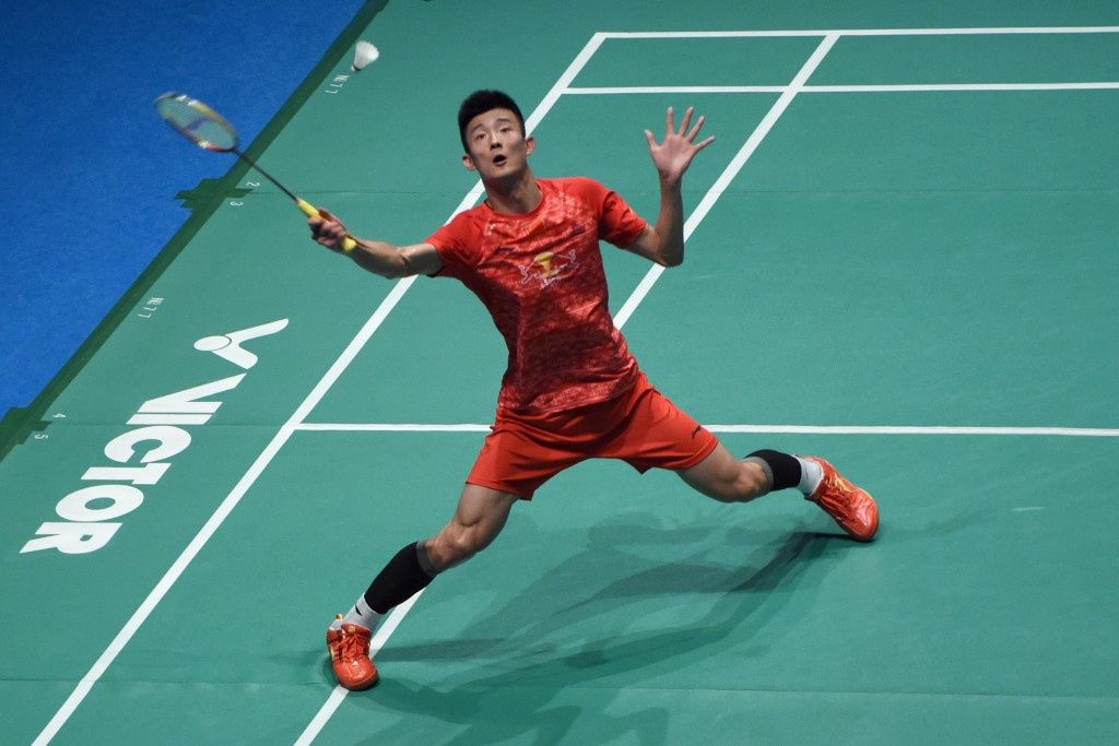 Men's top seed Chen Long is safely through to the quarter-finals