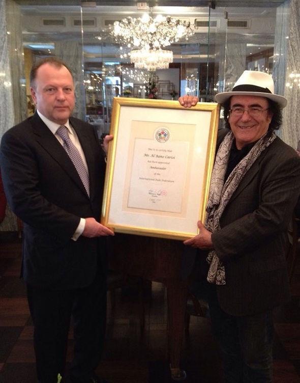 Italian singer and actor Al Bano appointed IJF Ambassador
