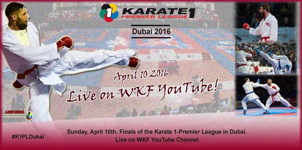 World champion Erkan headlines competitors at WKF Dubai Karate1 Premier League
