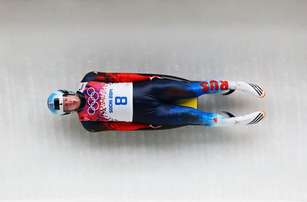 Semen Pavlichenko is one of Russia's top luge talents