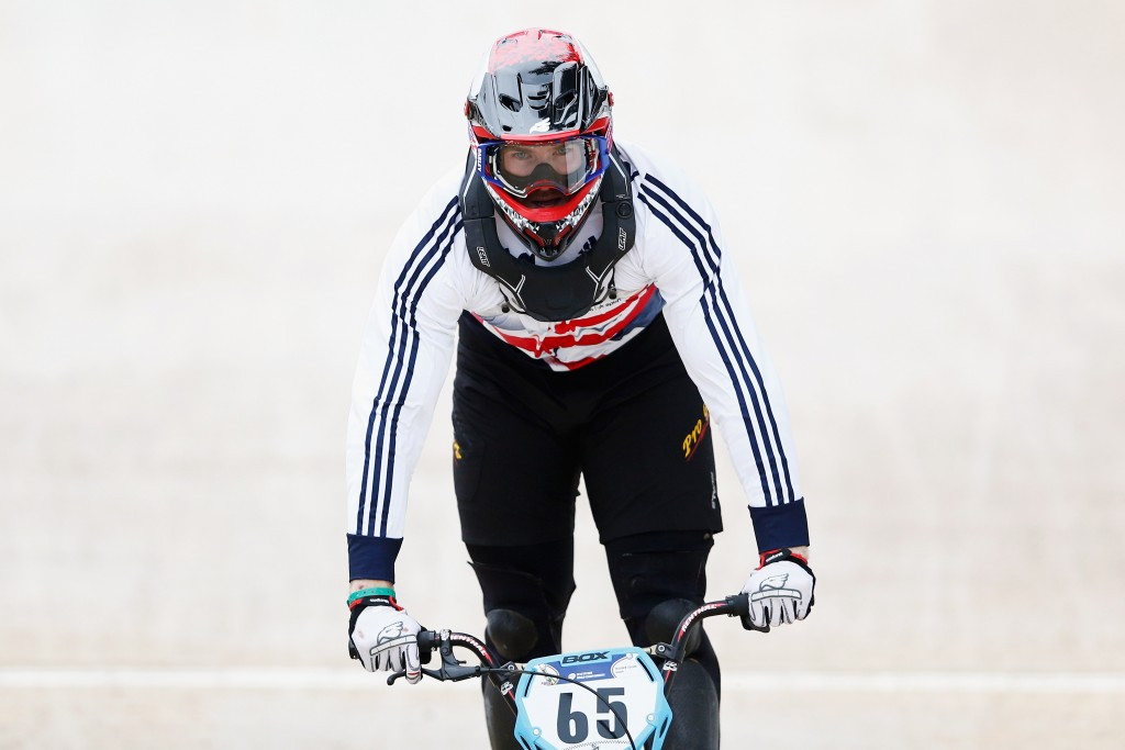 Phillips eyeing further home success at Manchester leg of BMX Supercross World Cup