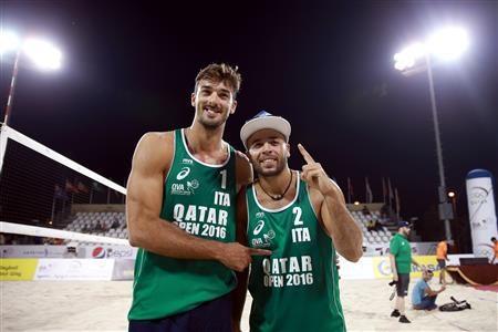 Italians Ranghieri and Carambula triumph at FIVB World Tour Qatar Open