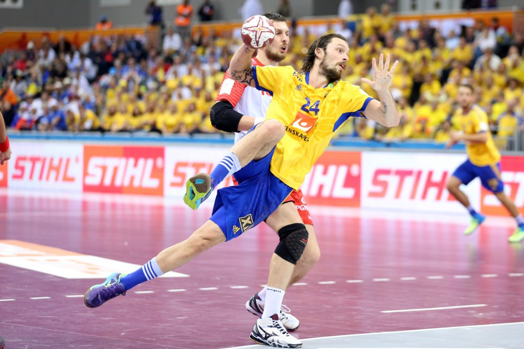 Olympic silver medallists Sweden make winning start to men's Rio 2016 handball qualifier