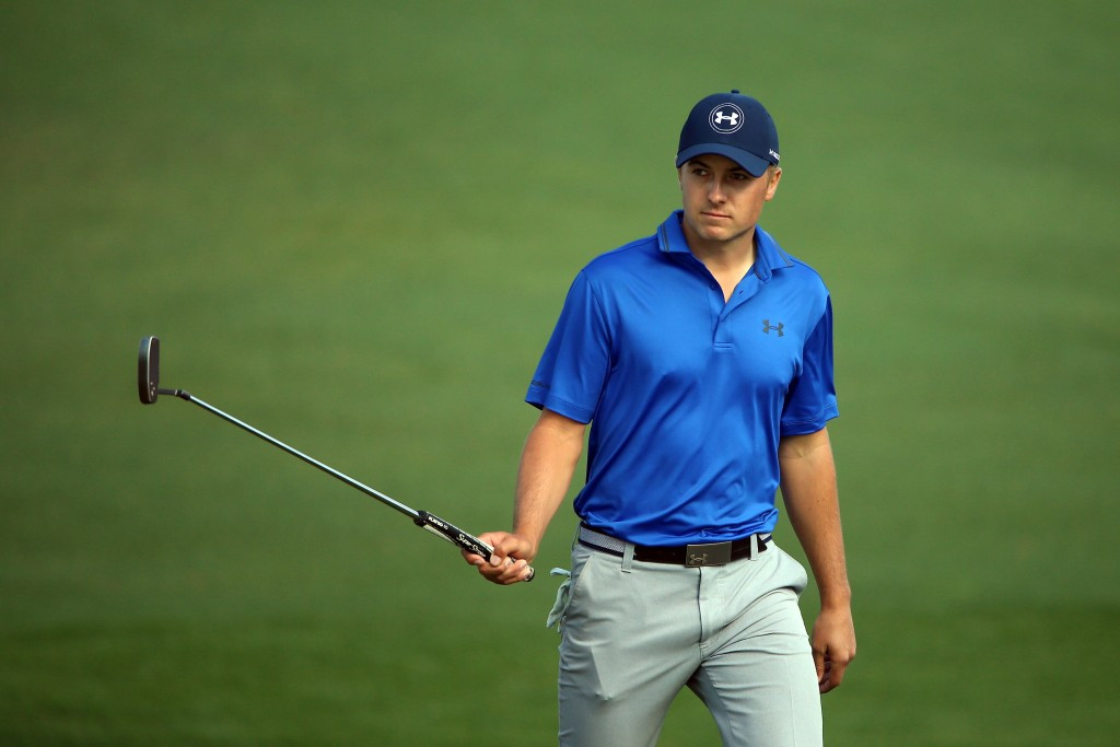 Spieth battles hard to preserve lead at The Masters
