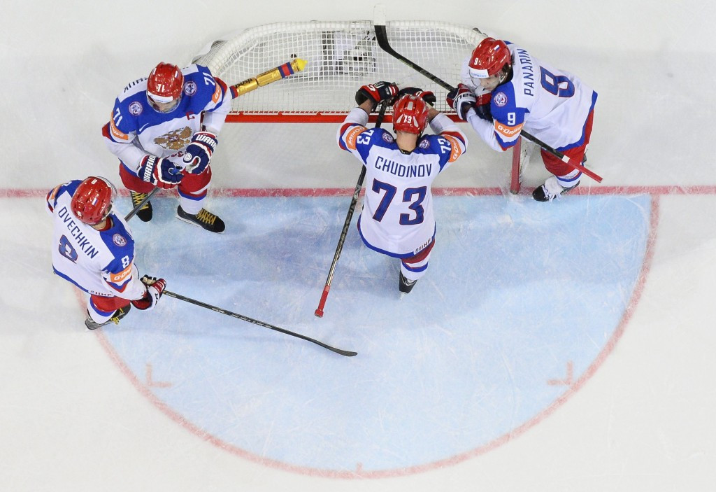 Russian venues ready to stage IIHF World Championship matches claims Mutko