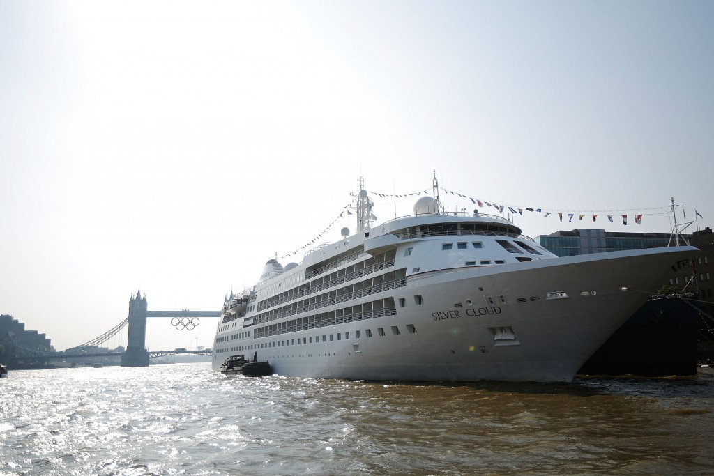 The Silver Cloud pictured in London during the 2012 Olympic Games ©Getty Images