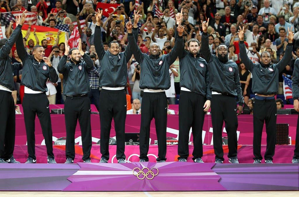 The US will be staying on a cruise ship during their pursuit of a third successive men's basketball Olympic gold ©Getty Images