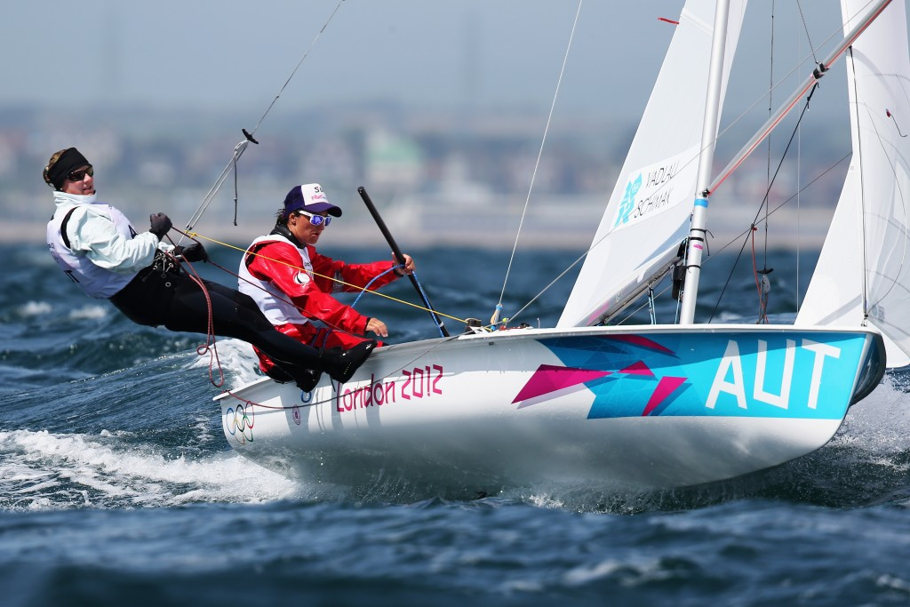 Austrians maintain lead as racing resumes at 470 European Championships