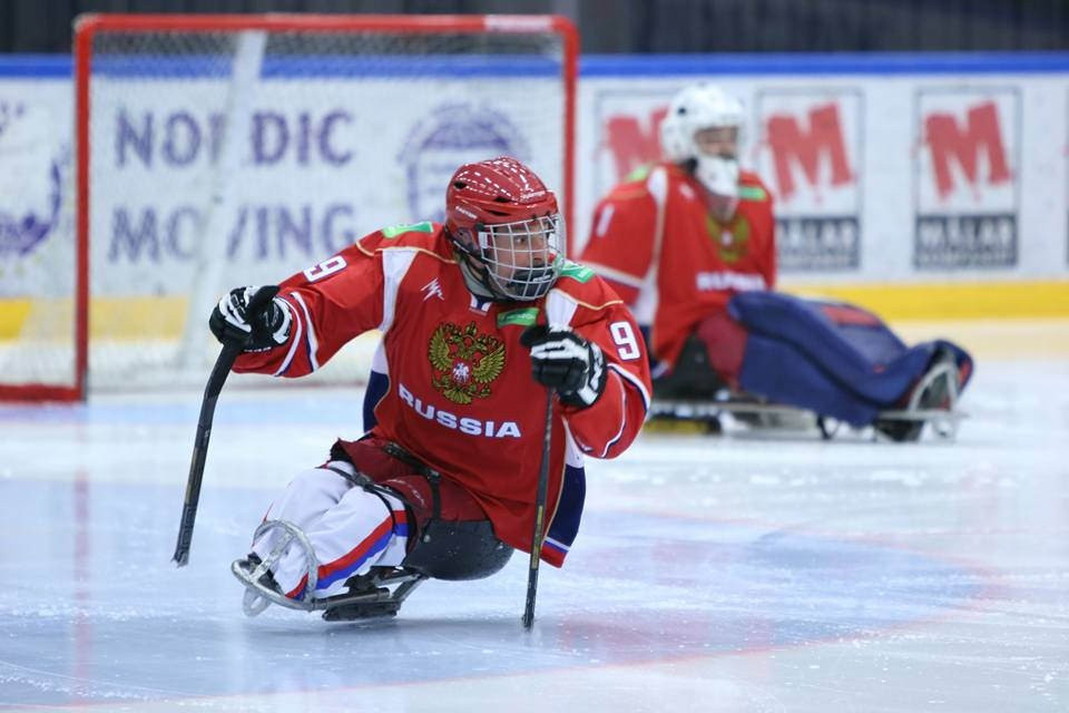 Terentev hat-trick helps Russia to another win at Ice Sledge Hockey European Championships