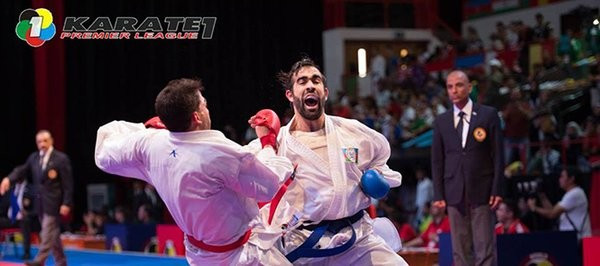 Aghayev reaches Dubai final on first appearance of Karate1-Premier League season