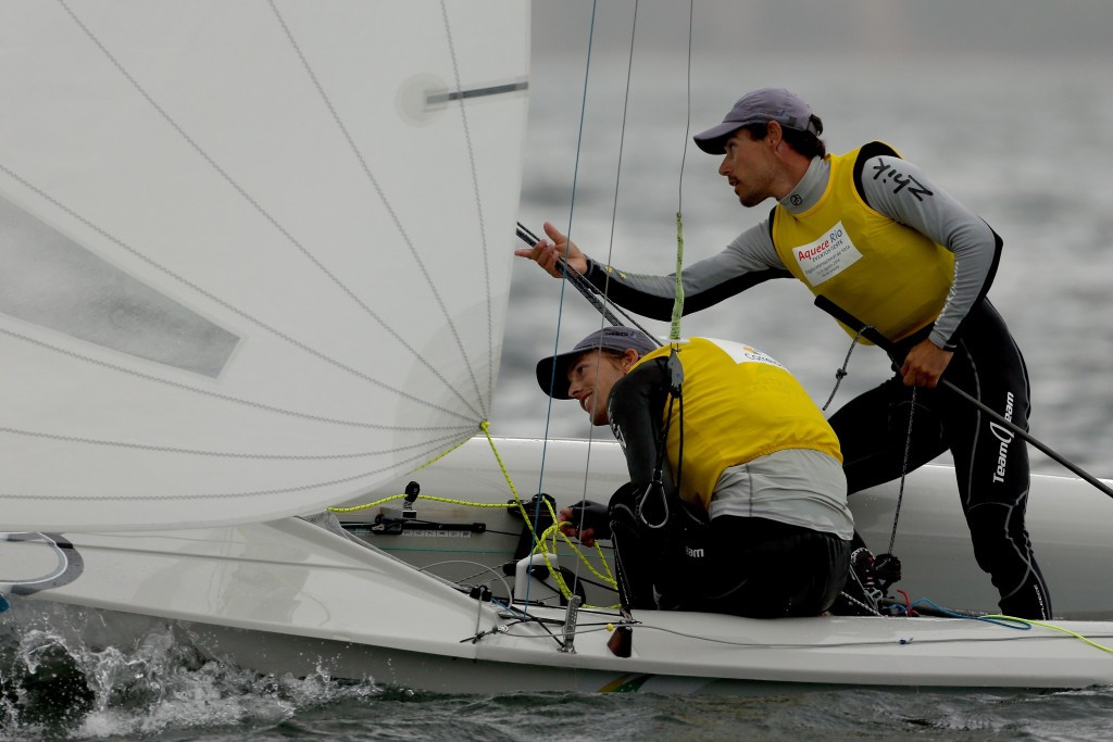 Belcher and Ryan move into race lead at 470 European Open Championships