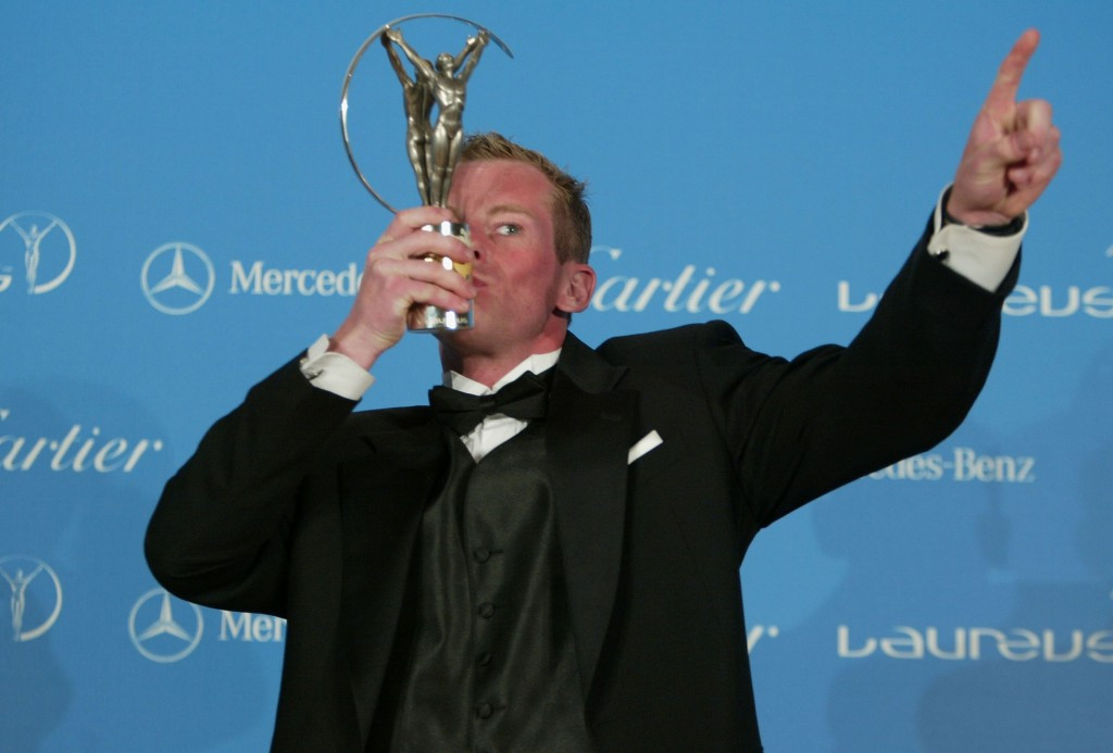 Earle Connor was awarded the Laureus World Sportsperson of the Year with a Disability in 2004 but stripped of the title later that year following a positive drugs test which forced him to miss Athens 2004 ©Getty Images