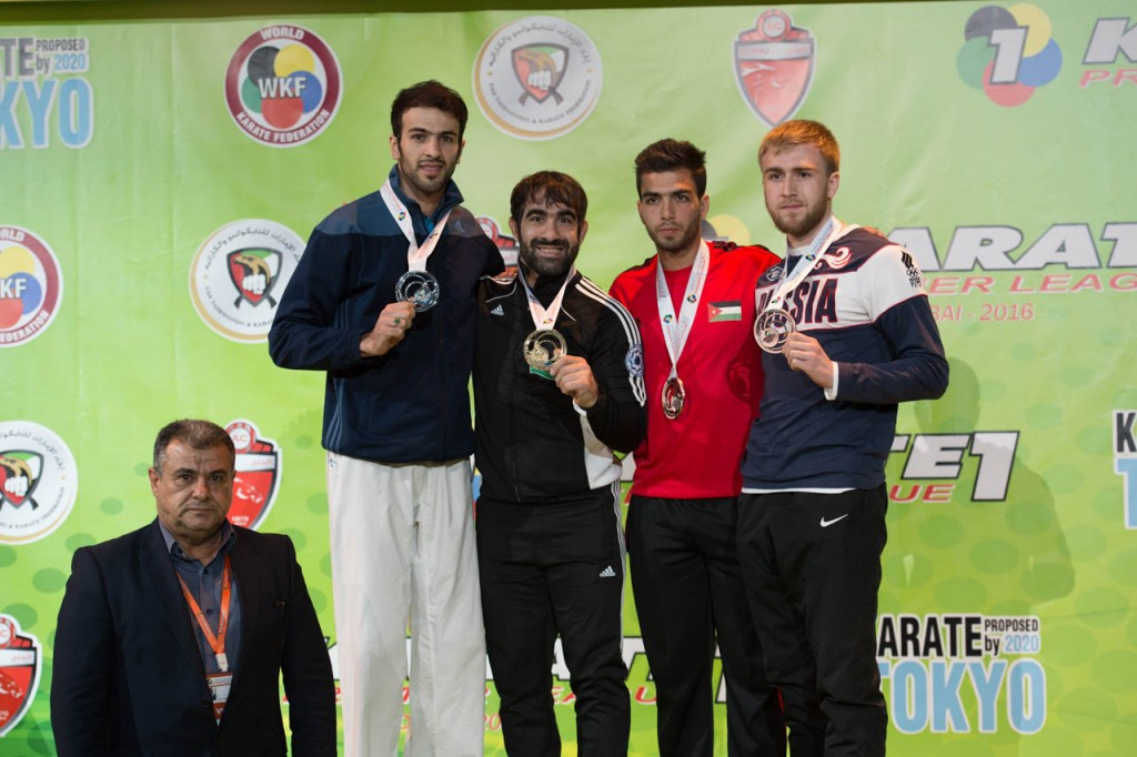 Aghayev completes Karate1-Premier League comeback with gold medal in Dubai