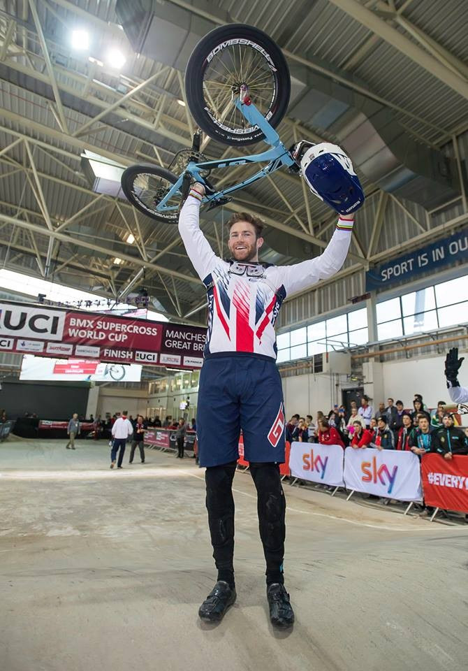 Liam Phillips won for the fourth straight time in Manchester ©Facebook/BMXSuperX