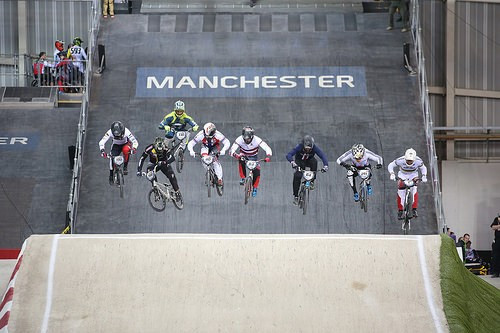 Phillips and Buchanan triumph again at Manchester round of UCI BMX Supercross World Cup