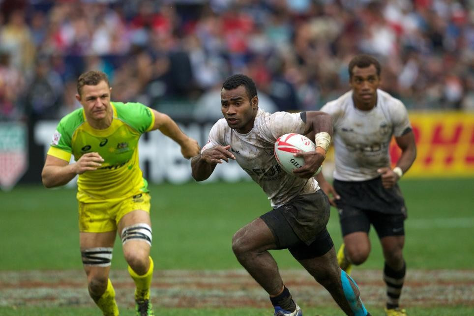The new agreement between World Rugby and Alibaba was announced during the HSBC Hong Kong Sevens ©World Rugby