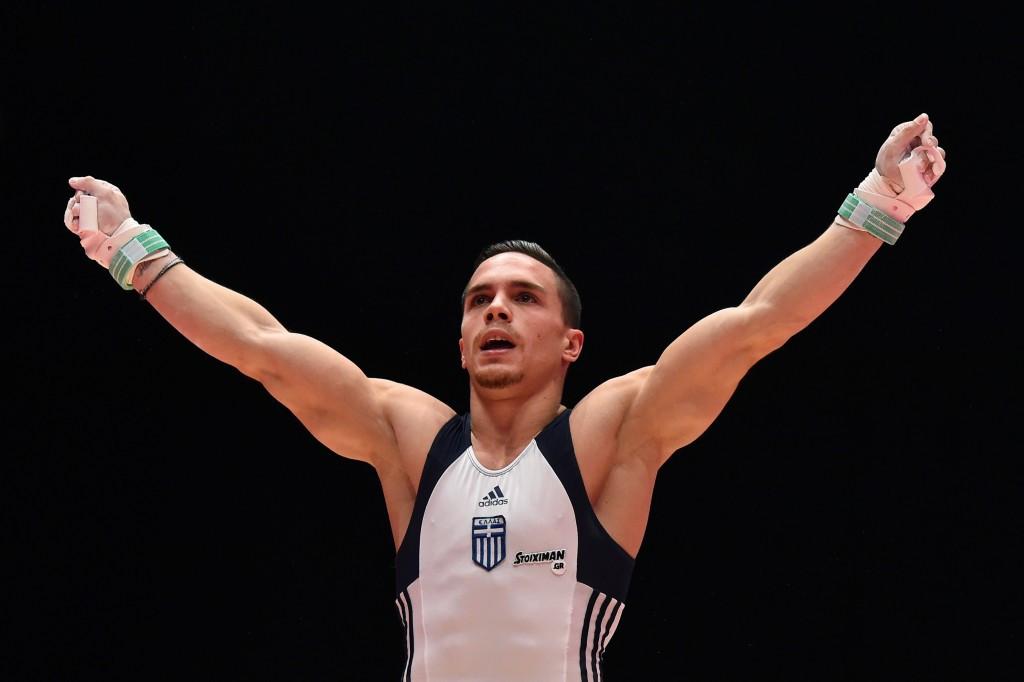 Greek world champion gymnast Petrounias chosen as first Rio 2016 Torchbearer