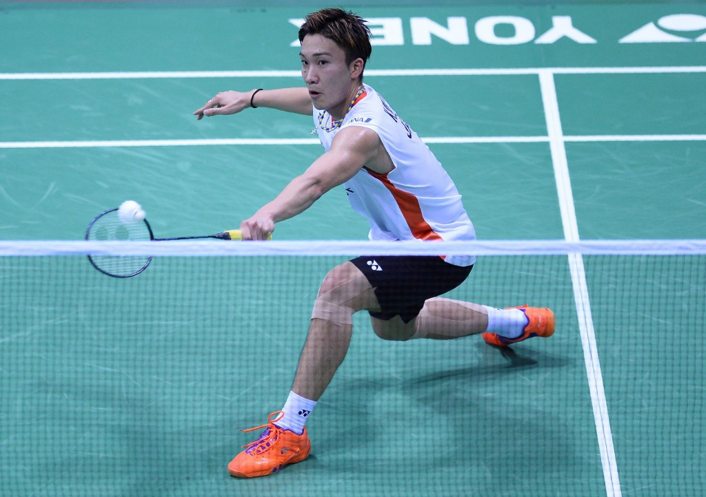 Japan's Kento Momota has been banned from Rio 2016, despite being one of the country's best hopes for a medal in the badminton tournament ©Getty Images