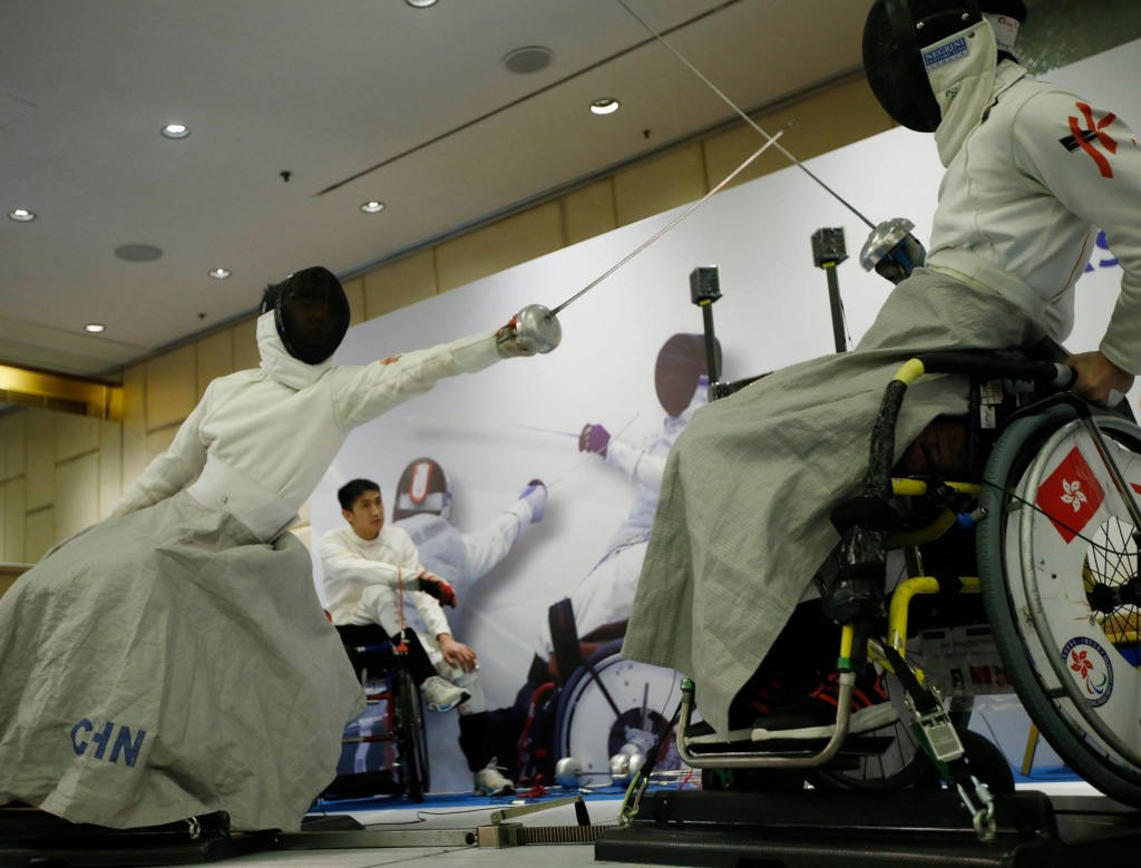 China emerged at the dominant nation at the (IWAS) Asian Wheelchair Fencing Championships ©Facebook/IWAS