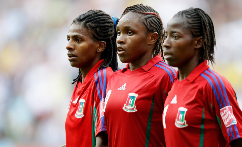 Equatorial Guinea's women's football team have been banned from competing at the Tokyo 2020 Olympic Games ©Getty Images