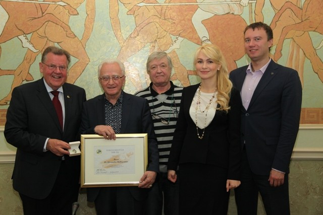 International Luge Federation give special honour to Russian pioneer