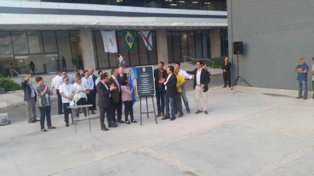 The MPC is declared open by IOC and RIo officials ©ITG