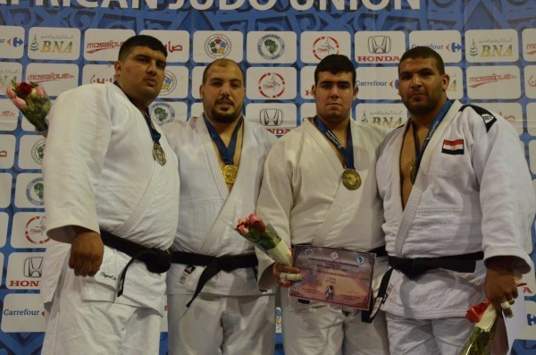 Faicel Jaballah claimed two titles at the African Judo Championships in Tunis as hosts Tunisia topped the medals table with five golds in all ©IJF