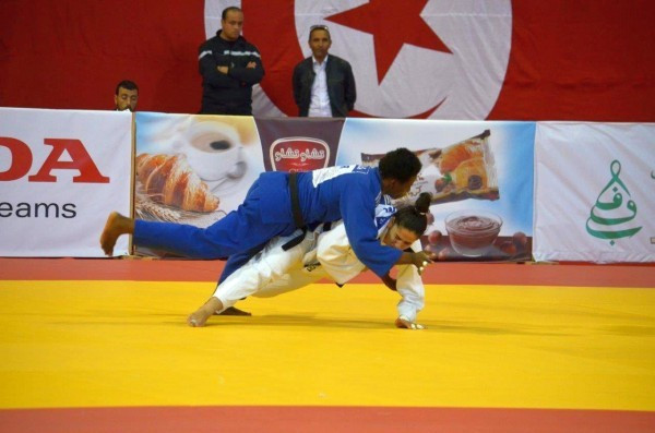 Sixteen gold medals were shared between six countries at the African Judo Championships