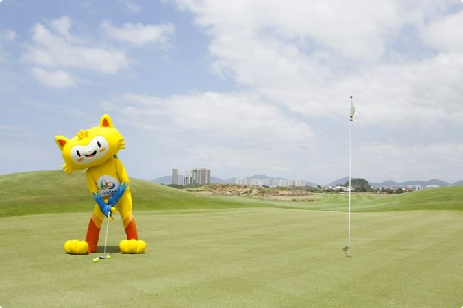Warnings have been given over the risk of animals on the course at the Rio 2016 golf course ©Rio 2016