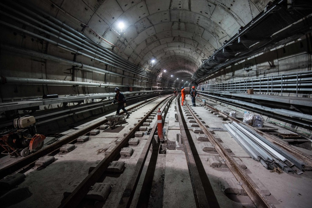 "Rio 2016 have hailed a ""breakthrough"" after the completion of tunnel excavation on the metro line extension ©AFP/Getty Images"