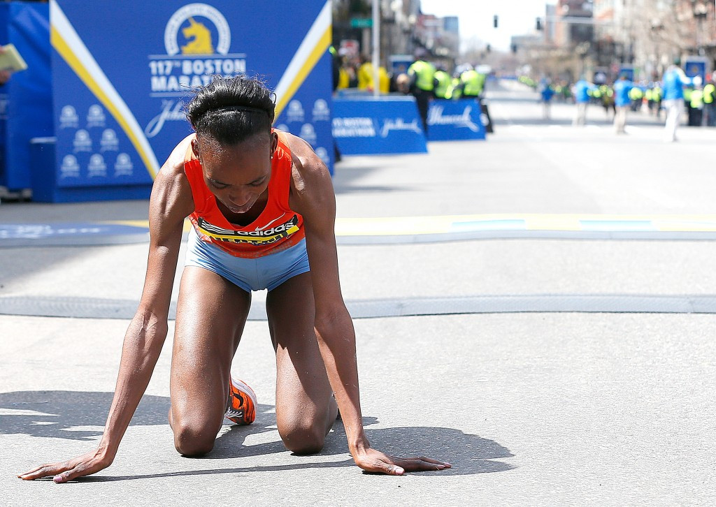 A failure by marathon runner Rita Jeptoo heightened fears over Kenyan doping ©Getty Images