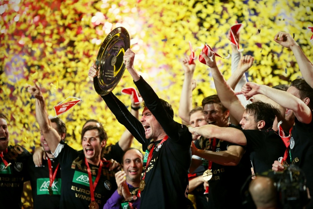 Germany's first triumph at the European Men's Handball Championship since 2004 generated huge interest across the country ©EHF