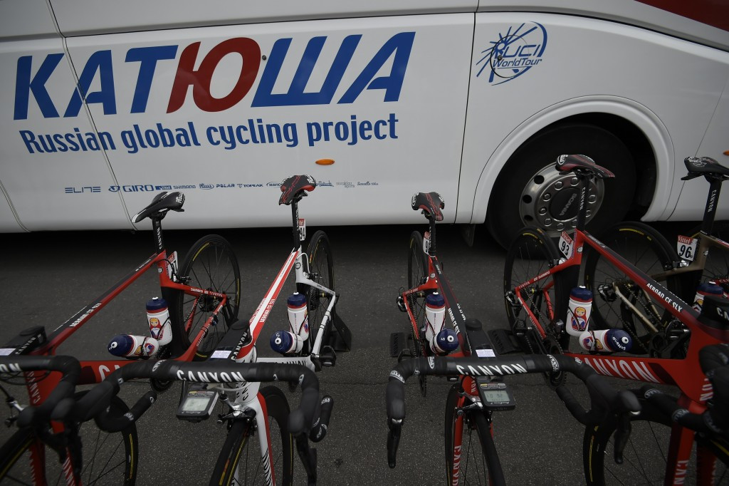 Luca Paolini was a member of the Katusha team until he had his contract nullified last year