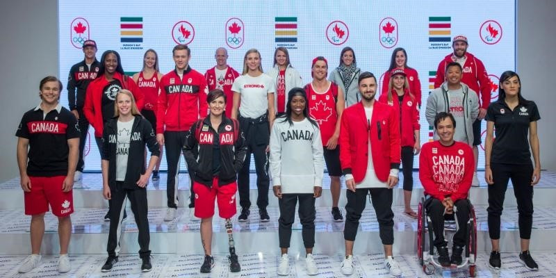 Department store chain Hudson's Bay have unveiled the collection of clothing for Canada for Rio 2016 ©CPC