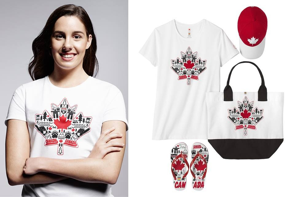 The collection features clothing for Olympic and Paralympic athletes and will go on sale to the general public