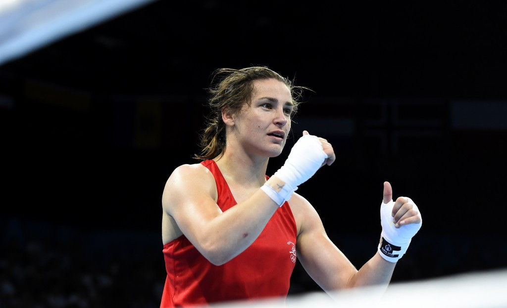 Ireland's Katie Taylor will be looking to defend her lightweight world title