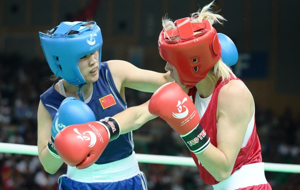 The 2012 AIBA Women's World Boxing Championships in Qinhuangdao was the first of its kind to serve as an Olympic qualifier