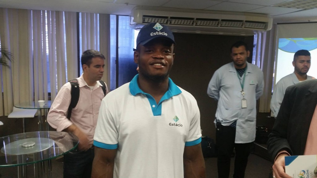 Popole Misenga is aiming to compete in the refugees team at Rio 2016 ©ITG