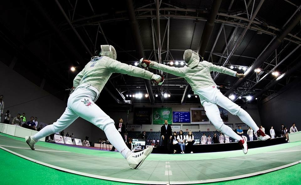 The Asian Fencing Championships got underway in Wuxi today ©FIE