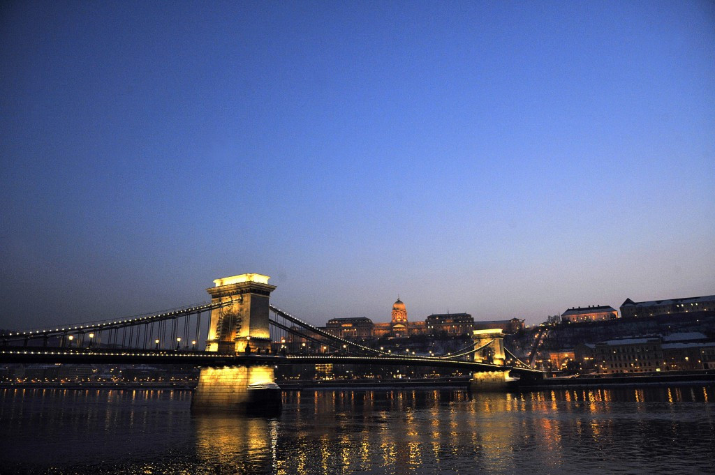 The logo will be unveiled at an iconic setting in the Hungarian capital