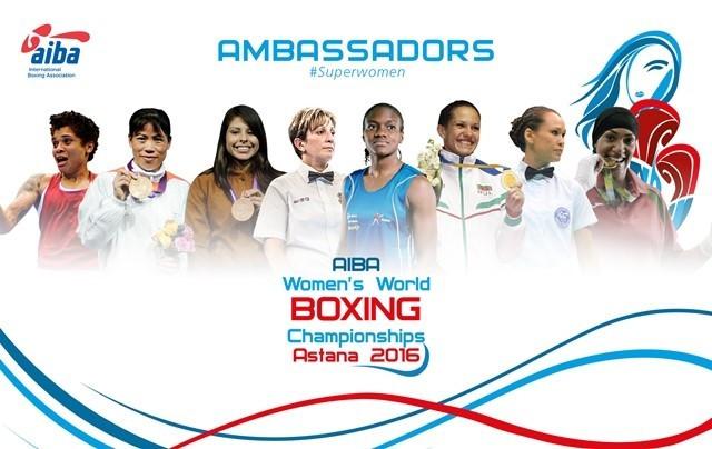 AIBA names ambassadors for 2016 Women's World Boxing Championships