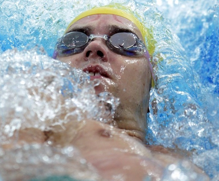 McClure breaks backstroke world record at Australian Swimming Championships