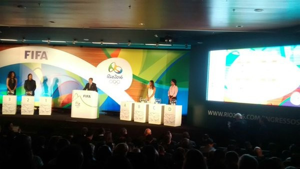 The draw took place today for the RIo 2016 football tournament ©Rio 2016