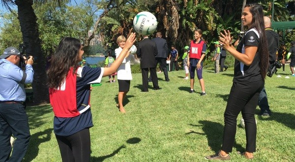 Netball Australia launch new scheme to help promote sport in Asia